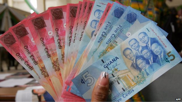 The cedi has lost almost a quarter of its value over the past year
