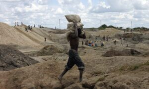 Mining activities in DRC are the subject of an ongoing inquiry into suspected malpractice by customs agents and companies. Photograph: David Lewis/Reuters