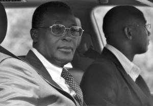 Burundi Vice President (L) Bernard Busokoza is on the run
