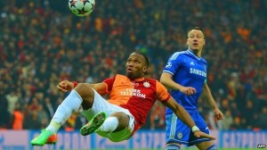 Ivorian footballer Didier Drogba has shown Africa's talent on the sports field