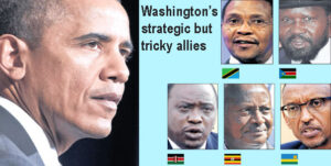 In Kenya, the ICC cases remain key as Uganda and Rwanda refuse to blink. Tanzania seen as Washington's footprint. TEA Graphic/Photos/FILE