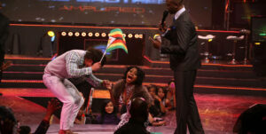 Zimbabwean Wendell Parson and Karen Igho of Nigeria when they won the BBA season six in 2011. Photo/FILE