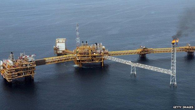 Oil contributes more than 70% to Nigeria's government revenues