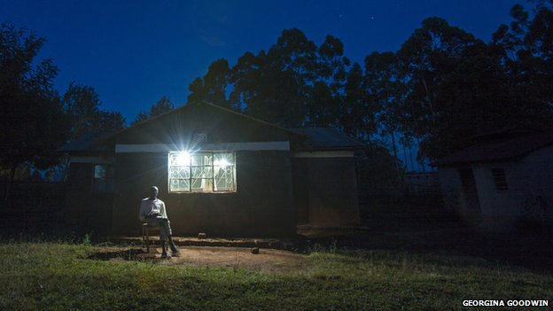 M-Kopa's mobile-enabled solar panels are bringing power to off-grid low-income households in Kenya