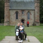The Sinclaire family in Scotland before deciding to come back to South Africa.