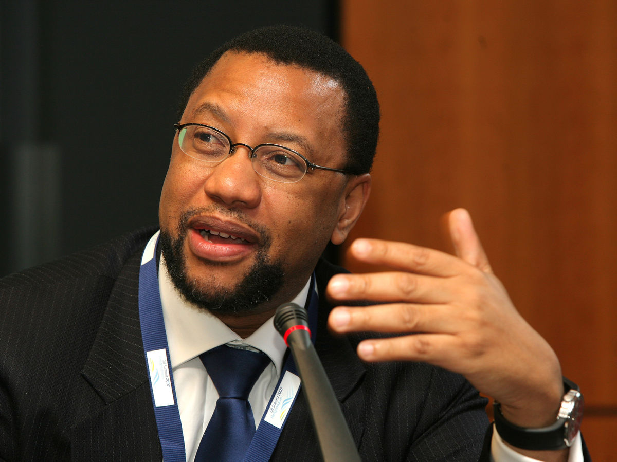 Photographer: Hannelore Foerster/Bloomberg Phuthuma Nhleko, chairman of MTN Group Ltd.