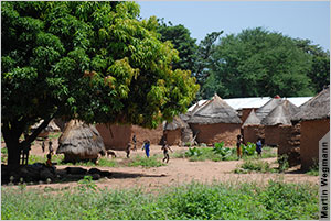 Close to 600 million people in sub-Saharan Africa lack modern access to electricity, such as the residents of this village in Benin, shown in 2007.