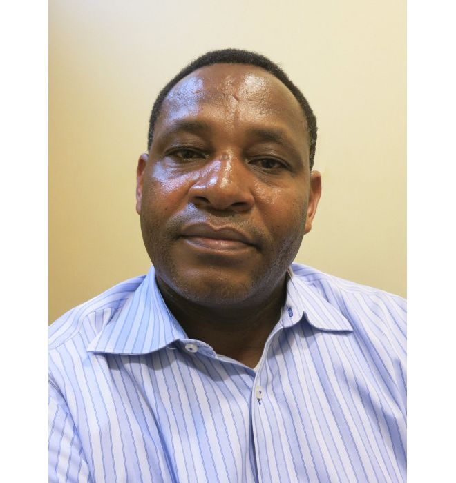 Edouard Kayihura, survivor of the genocide in Rwanda