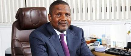 """""""The reason I wake up every day and work hard is to face the challenges and strive to take the continent to the next level"""" - Nigerian entrepreneur Aliko Dangote. PHOTO 