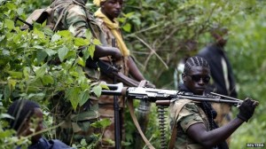 Seleka fighters withdrew from Bangui towards the north-east in January