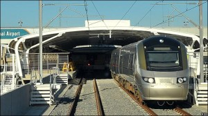 The country has benefitted from the $1.7 billion the government spent on improving transport infrastructure, though it's the wealthy that have most enjoyed the new roads, upgraded airports, enhanced neighbourhoods, and the Gautrain, South Africa's first high-speed train (Pictured). Photo: AFP