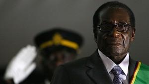 President Robert Mugabe of Zimbabwe. Photo: Alexander Joe/AFP/Getty Images