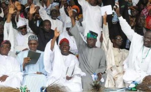 Leaders of the opposition APC