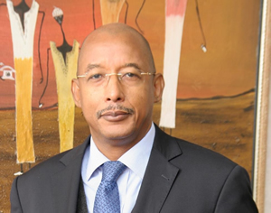 Dr. Ibrahim Mayaki is the chief executive officer of NEPAD. -