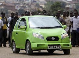 Kiira EV car by Makerere University