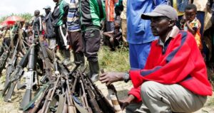 The surrender of 105 FDLR rebels in Kateku was considered insignificant by the UN. Photo©Kenny Katombe/Reuters
