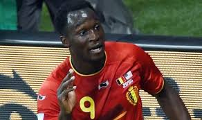 Belgiums forward Romelu Lukaku