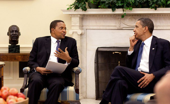Jakaya Kikwete, the president of Tanzania, was the first African head of state to meet President Obama.