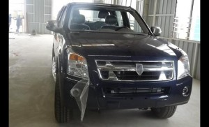A Kantanka brand of SUV that has gone through testing and is ready for the market
