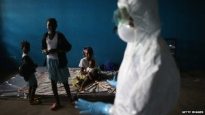 School classrooms have been pressed into use as Ebola isolation wards in Monrovia, Liberia