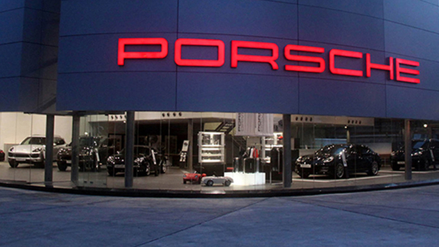 Porsche Center ,Lagos,Nigeria