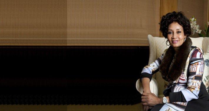 Lindiwe Sisulu, Human Settlements Minister, South Africa. Photo©Daniel Boshoff for TAR