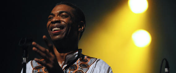 Nigerian musician Femi Kuti performs on the stage of the Bataclan on November 12, 2008 in Paris. AFP PHOTO STEPHANE DE SAKUTIN (Photo credit should read STEPHANE DE SAKUTIN/AFP/Getty Images) | AFP via Getty Images