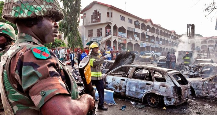 The bombing of a mall in June was Boko Haram's third attack on Abuja this year. Photo©Olamikan Gbemiga/AP/SIPA