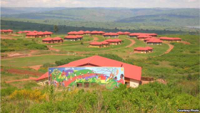 Agahozo-Shalom Youth Village, east of Kigali. The village is home to the biggest solar power plant in East Africa. Credit: ASYV