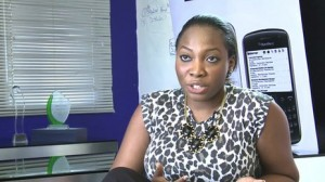 Amarachi Apakama found a job through the site without filling out an application