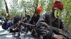 The Niger Delta militants grew out of the remnants of young men armed by campaigning politicians