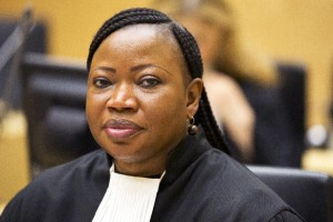 "Fatou Bensouda, pictured in the Hague in May 2014, said prosecutors are not dropping the five counts against Uhuru Kenyatta, saying that would be ""inappropriate"" (AFP Photo/)"