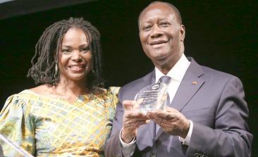 AAI's Amini and Ivorian President