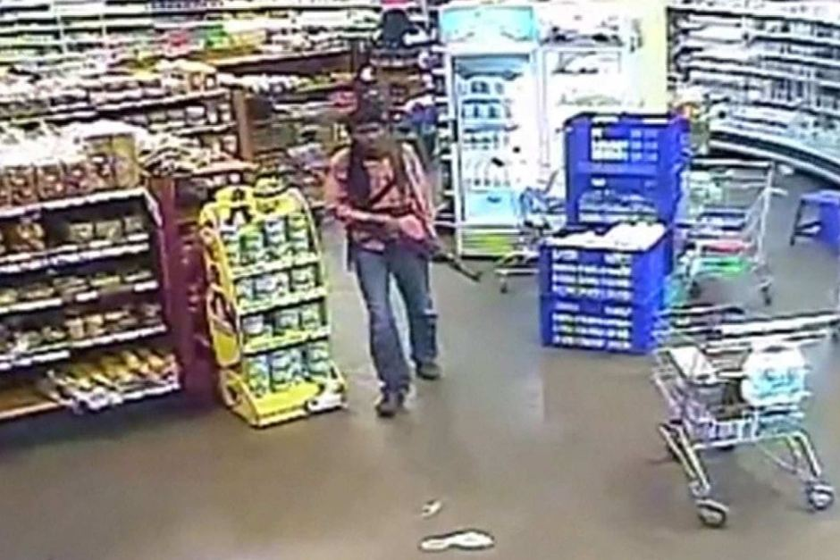Video footage of one of the 4 Westgate terrorists during the attack in Sept 2013.