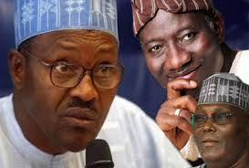 Buhari,Jonathan,and Atiku, the battle for 2015 is gathering steam
