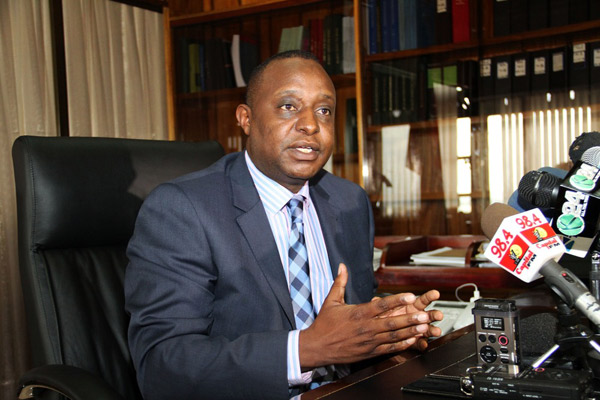 Treasury Cabinet Secretary Henry Rotich. Kenya is set to be classified as a middle-income country, 16 years ahead of schedule, with the release of revised figures for the economy. FILE PHOTO |   NATION MEDIA GROUP.