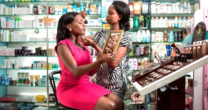 Middle-class East African women are increasingly sophisticated and demand quality cosmetic products to suit their lifestyles. Photo©Sven Torfinn/The New York Times-Redux-Rea
