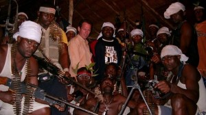 Davis with Asari Dokubo and Mend fighters