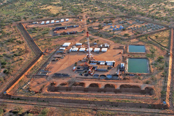 "Tullow Oil Company on Thursday announced an oil discovery at the Etom 1 exploration well that it said extended the already proven South Lokichar basin ""significantly northwards"" FILE PHOTO 