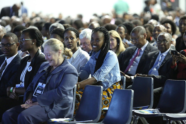 The function attracted hundreds of Rwandans from the diaspora