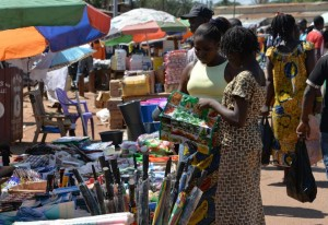 A study by the African Development Bank found that the continent's middle class is strongest in countries with a robust and growing private sector (AFP Photo/Pacome Pabamdji)