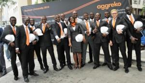 The 2014 Graduates of the Aggreko University