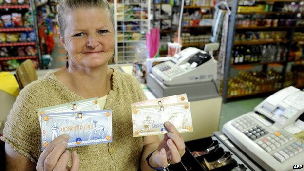 Orania has its own currency pegged to the South African rand