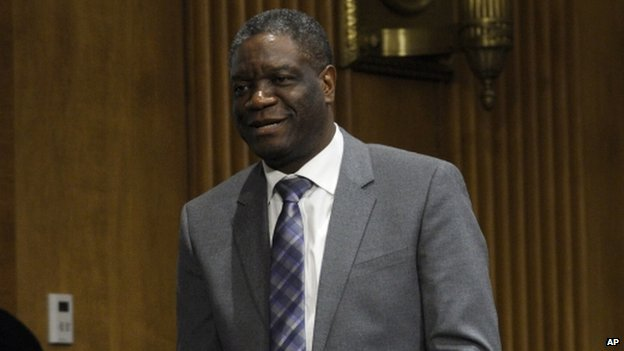 Denis Mukwege have been helping thousands of victims of sexual violence in the DR Congo