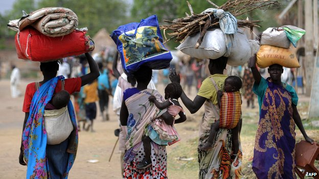 There are more than 1.4 million displaced people in South Sudan