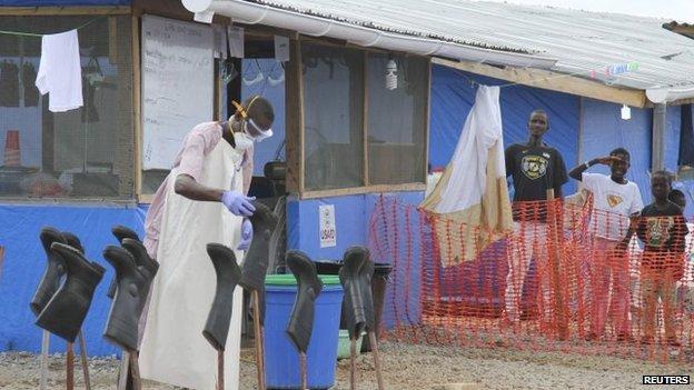 The US envoy praised the work of the Ebola treatment unit set up by the US in Bong County