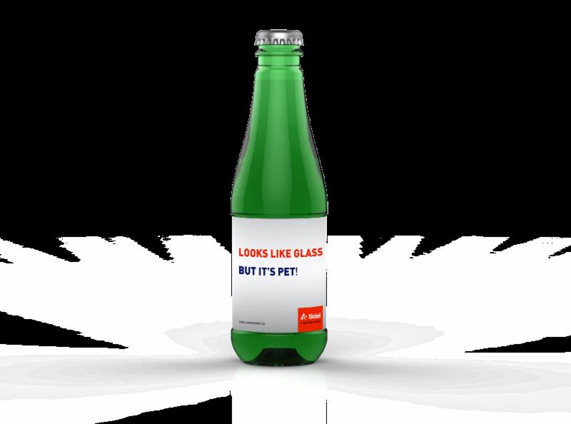 Sidel's PET Beer Bottle