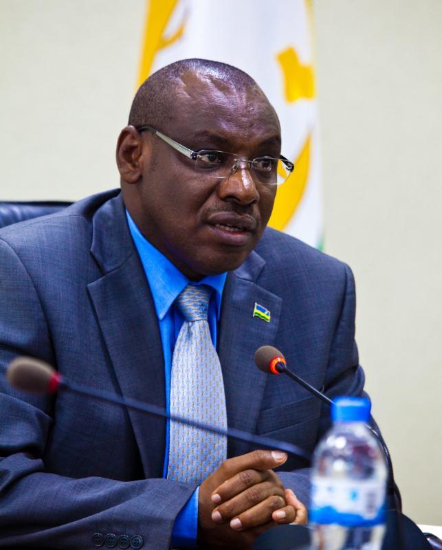 Claver Gatete, Rwanda Minister of Finance and Economic Planning.