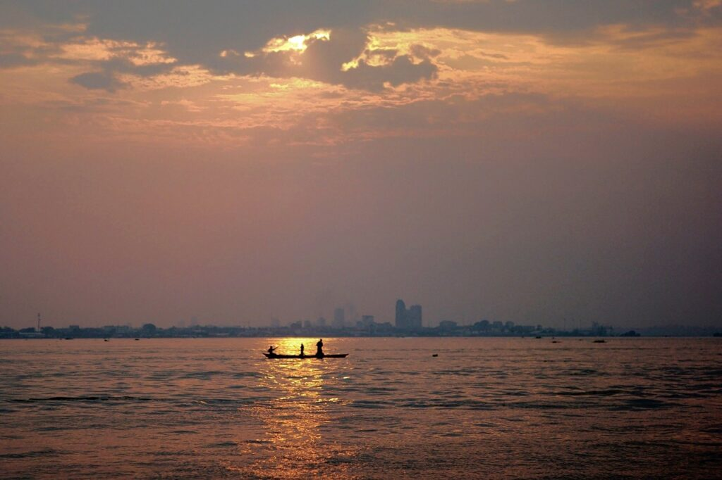 Congo's capital Kinshasa seen from the Congo River. The African nation hopes to lease vast farmlands. REUTERS