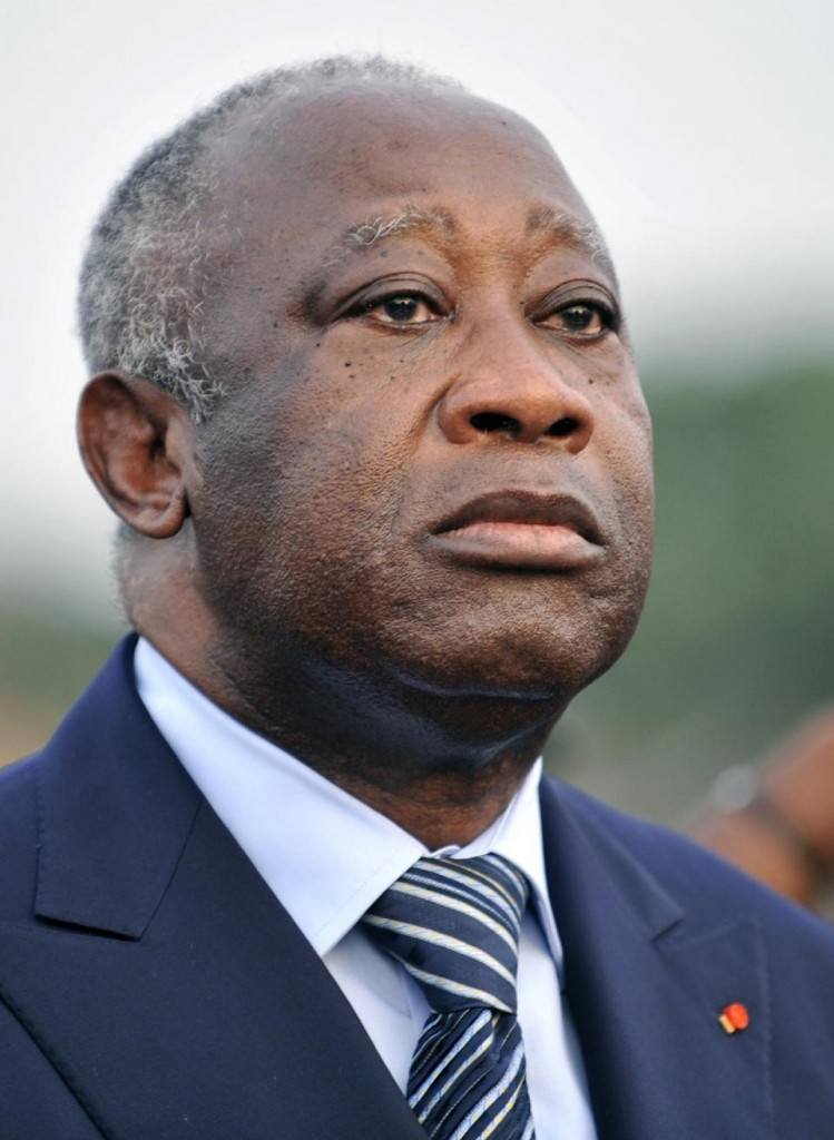 This February 4, 2011 photo shows then Ivory Coast President Laurent Gbagbo in Abidjan (AFP Photo/Sia Kambou)